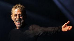 Le chanteur-compositeur Chico Buarque en concert à Sao Paulo le 1er mars 2012.  (Eduardo Nicolau / AGencia Estado / AFP )