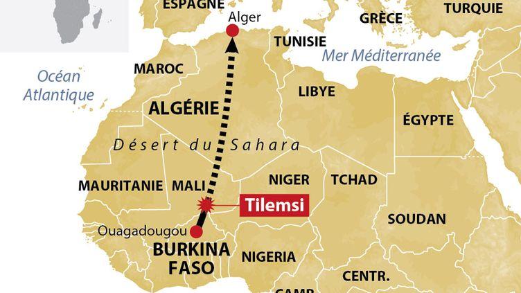 (L'avion a été découvert près de la frontière du Burkina Faso|IDE)