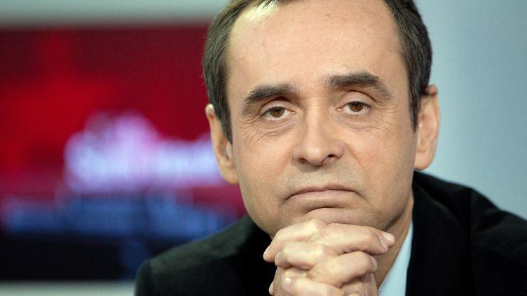 L'ancien secrétaire général de l'association Reporters sans frontières, Robert Ménard, le 31 janvier 2011 à Paris. (LOIC VENANCE / AFP)