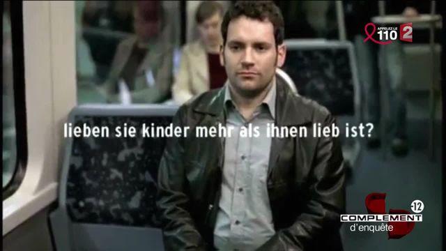 Complément d'enquête. Le spot télé allemand qui s'adresse aux pédophiles
