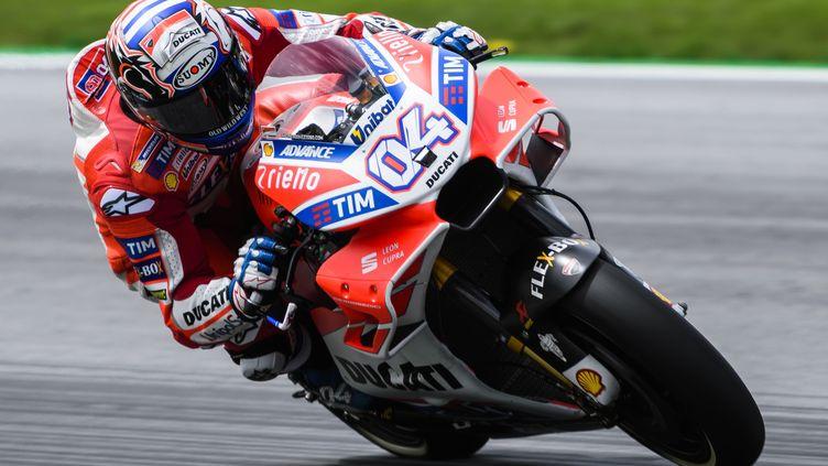 L'Italien Andrea Dovizioso (Ducati) (JURE MAKOVEC / AFP)