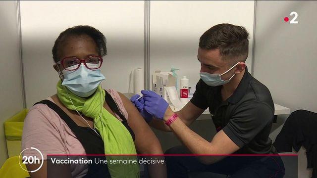 Vaccin contre le Covid-19 : une semaine décisive commence, le gouvernement souhaite tenir son objectif