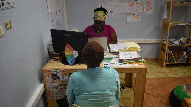 Le centre de santé de Maripasoula (Guyane), le 7 février 2020. (MAXPP)