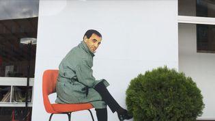 Portrait de Charles Aznavour dans le square qui porte son nom à Erevan  (Rouzane Avanissian)