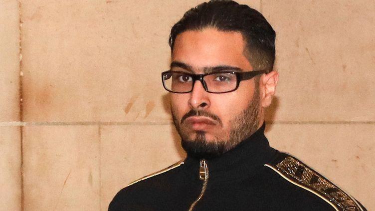 Jawad Bendaoud, le 21 novembre 2018 à Paris. (JACQUES DEMARTHON / AFP)