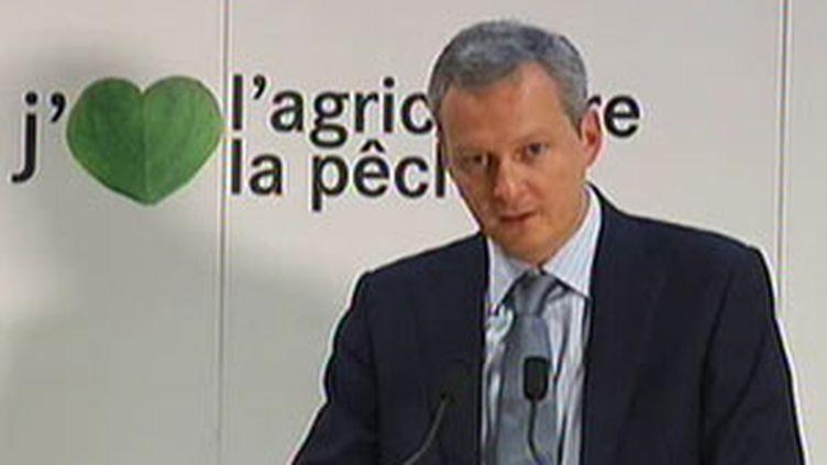 Bruno Le Maire déplore la position des syviculteurs (© F2)