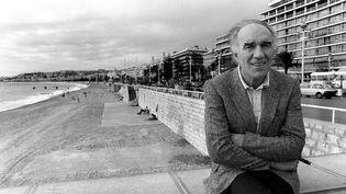 Michel Piccoli à Nice en 1983. (ERIC GAILLARD / AFP)