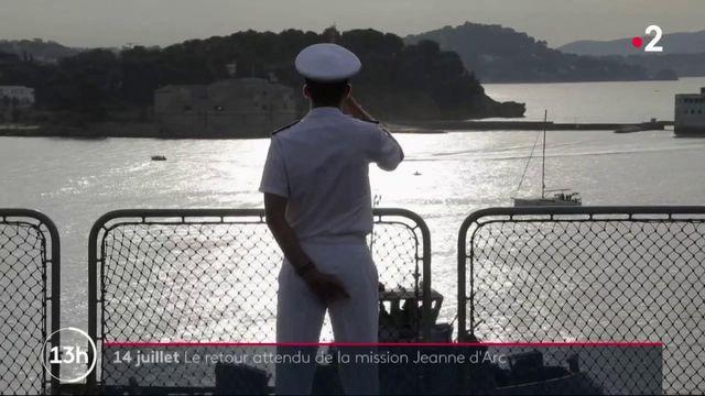 14 juillet : le retour attendu de la mission Jeanne d'Arc