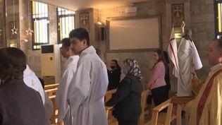 Pâques en Syrie. (Capture d'écran franceinfo)