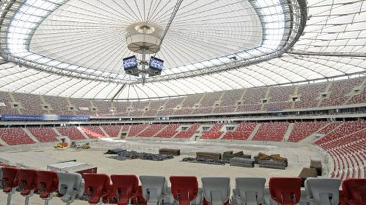 Le stade national de Varsovie pas encore terminé