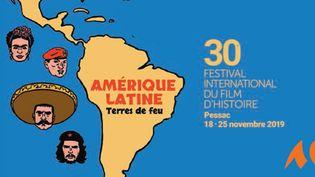 L'affiche du 30e Festival international du film d'histoire de Pessac. (DR)
