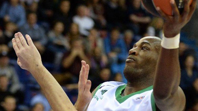 Ali Traoré sous le maillot de la JSF Nanterre (YURI KADOBNOV / AFP)