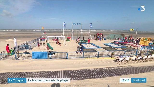 Pas-de-Calais : les enfants au paradis sur la plage du Touquet