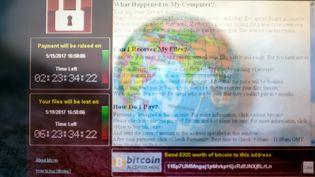 Illustration d'une attaque informatique de type rançongiciel. (BRUNO LEVESQUE / MAXPPP)