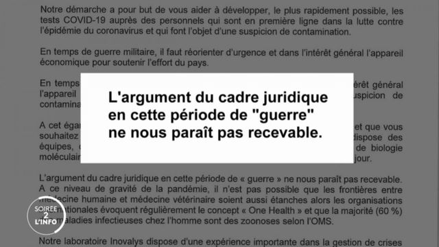 Soirée 2 l'info. En France, la stratégie de dépistage du coronavirus s'est-elle heurtée à de banals blocages administratifs ?
