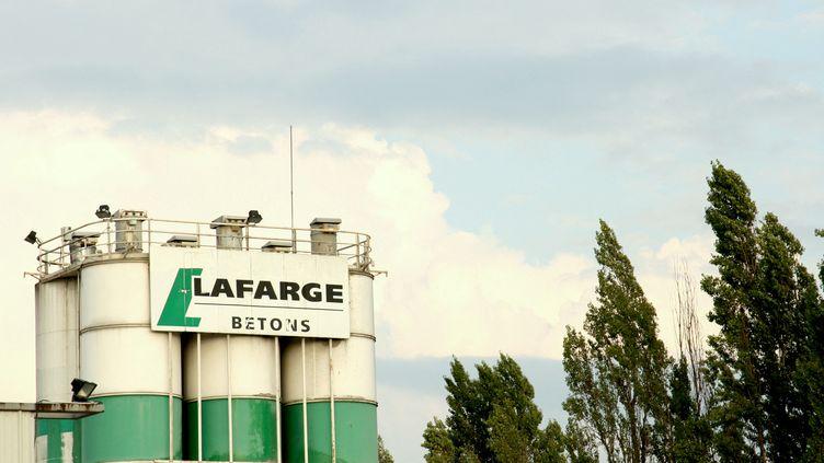 Vue de l'usine de béton Lafarge à Pantin (illustration). (CATHERINE GRAIN / RADIOFRANCE)