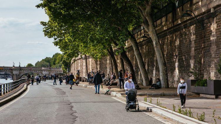 Fin des restrictions de déplacement en journée à partir du 3 mai (MATHIEU MENARD / HANS LUCAS / AFP)