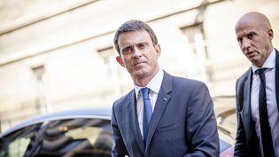 Le Premier ministre, Manuel Valls, arrive à l'Assemblée nationale, à Paris, le 7 avril 2015. (AURÉLIEN MORISSARD / CITIZENSIDE/ AFP)