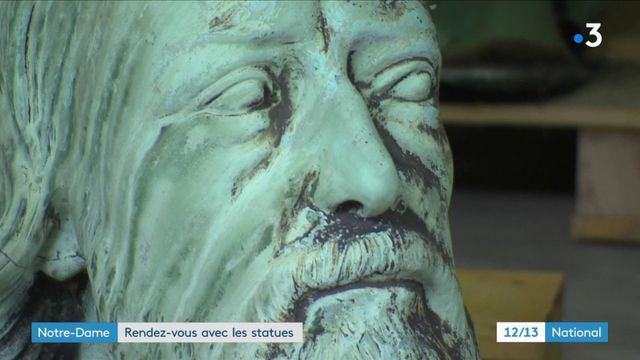 Notre-Dame : rencontre avec les statues miraculées de l'incendie