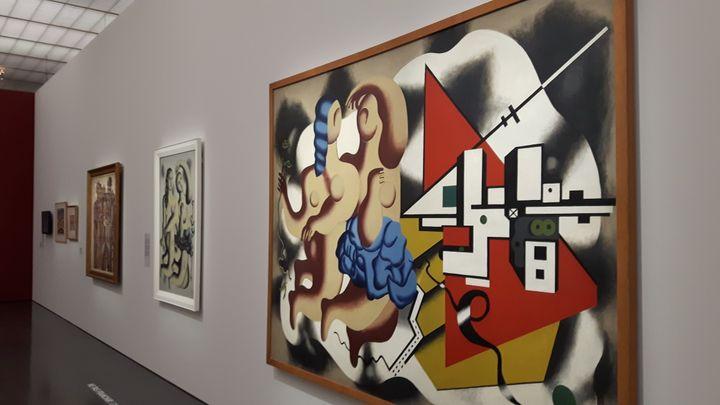 """""""Les danseuses aux clés"""" de Fernand Léger (1930) au Centre Pompidou-Metz (RADIO FRANCE / Anne Chépeau)"""