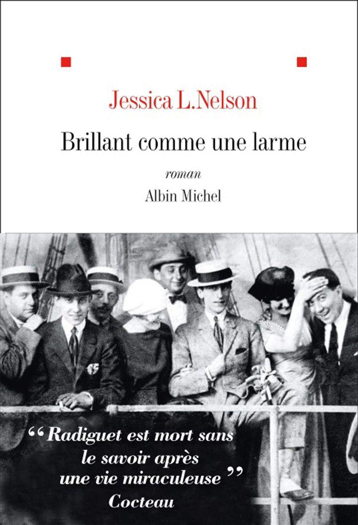 """Couverture de """"Brillant comme une larme"""", de Jessica L. Nelson (2020) (EDITIONS ALBIN MICHEL)"""