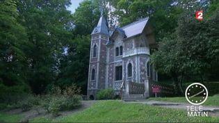 Un des deux châteaux d'Alexandre Dumas à Port-Marly ( Yvelines) (France 2)