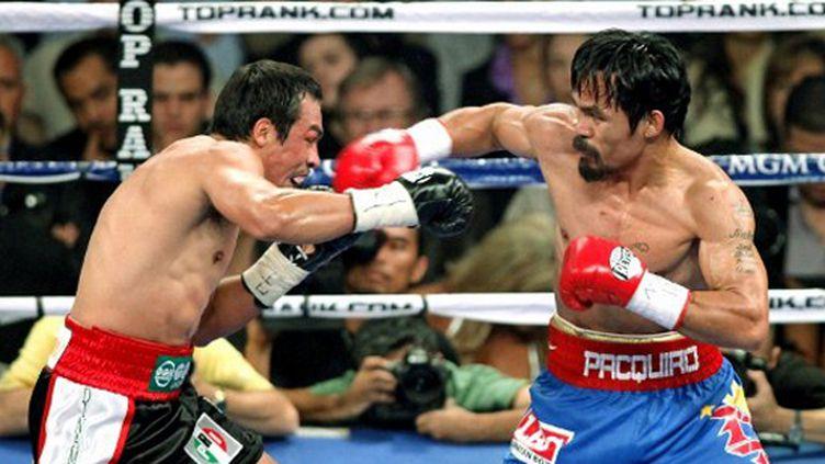 Manny Pacquiao contre Juan Manuel Marquez