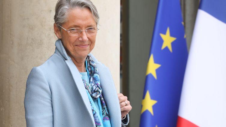 Elisabeth Borne, nommée ministre de la Transition écologique en remplacement de François de Rugy, quitte l'Elysée après un Conseil des ministres, le 12 juin 2019. (LUDOVIC MARIN / AFP)
