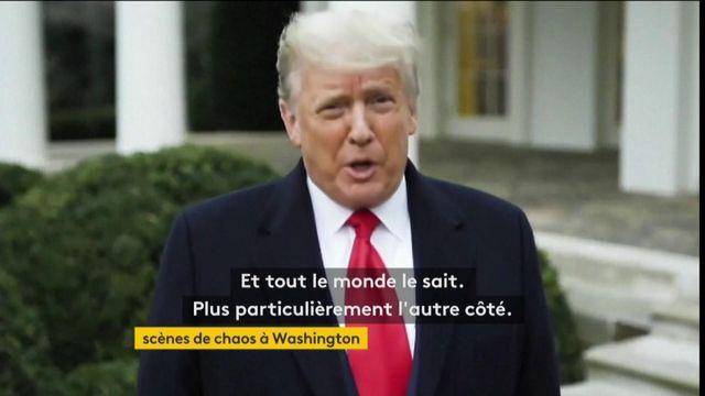 États-Unis : Donald Trump appelle les manifestants à rentrer chez eux