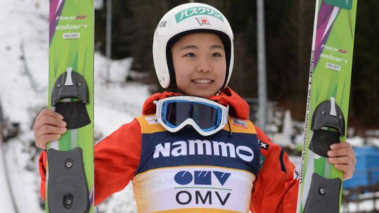 La sauteuse à skis japonaise Sara Takanashi