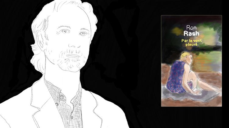 """Ron Rash, auteur de """"Par le vent pleuré"""" (Seuil)  (Laurence Houot / Culturebox)"""