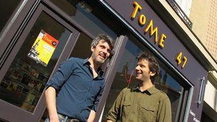 Laurent Bailly et Grégoire Orsingher se lancent dans l'aventure d'une librairie indépendante à Vitry-sur-Seine