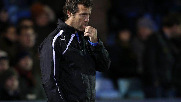 Fabien Galthié retrouvera un banc en tant que manager du RC Toulon la saison prochaine. (ADRIAN DENNIS / AFP)