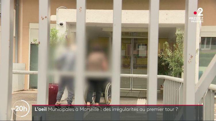 Municipales à Marseille: des procurations irrégulières établies pour des résidents d'un Ehpad. (FRANCE 2)
