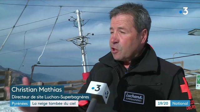 Pyrénées : quand les hélicoptères livrent la neige