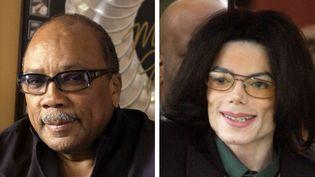 """Quincy Jones a notamment aidé à concevoir les albums mythiques du roi de la pop """"Thriller"""" et """"Bad"""".  (AP / SIPA)"""
