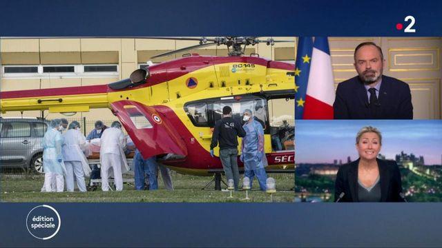 Édouard Philippe : « Nous avons encore 200 places de réanimation disponibles en Ile-de-France »
