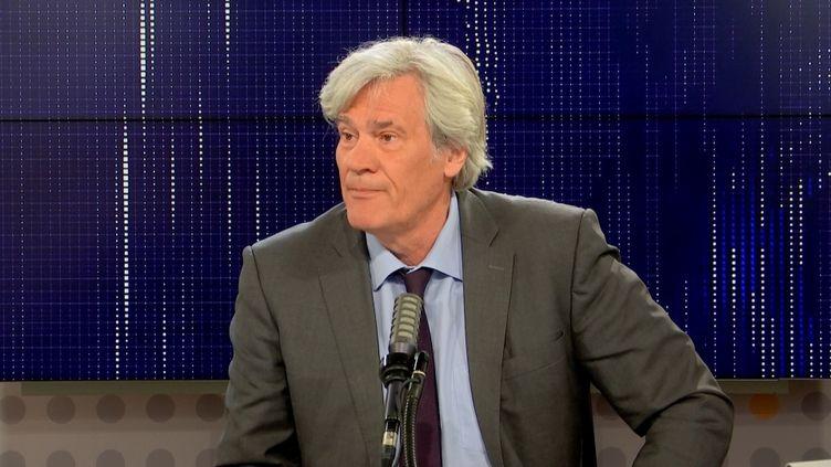 Stéphane Le Foll, invité de franceinfo le 10 octobre 2021. (FRANCEINFO)