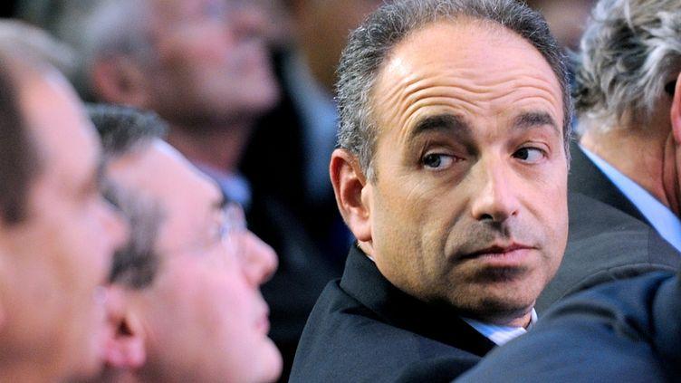 Jean-Francois Copé, secrétaire général de l'UMP, à Marcq-en-Barœul (Nord), le 27 septembre 2012. (DENIS CHARLET / AFP)
