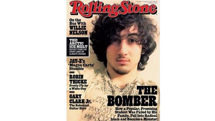 """L'auteur présumé de l'attentat de Boston, Djokhar Tsarnaev, à la une du magazine """"Rolling Stone"""" daté d'août 2013. (ROLLING STONE)"""