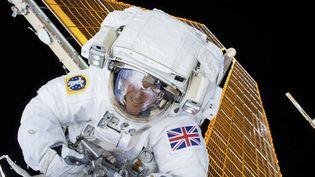 L'astronaute britannique Tim Peake, lors d'une sortie dans l'espace, le 15 janvier 2015. (NASA NASA / REUTERS)