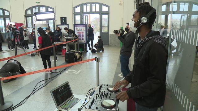 Battle hip-hop en gare de St Brieuc