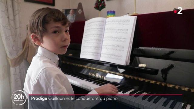 Musique : Guillaume, 6 ans, petit prodige du piano