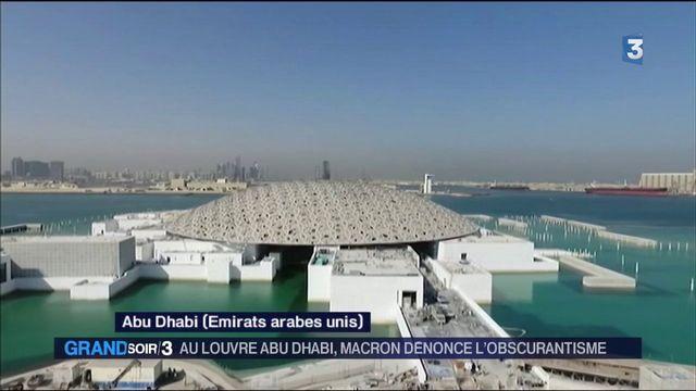 Macron au Louvre Abu Dhabi : une inauguration forte de sens