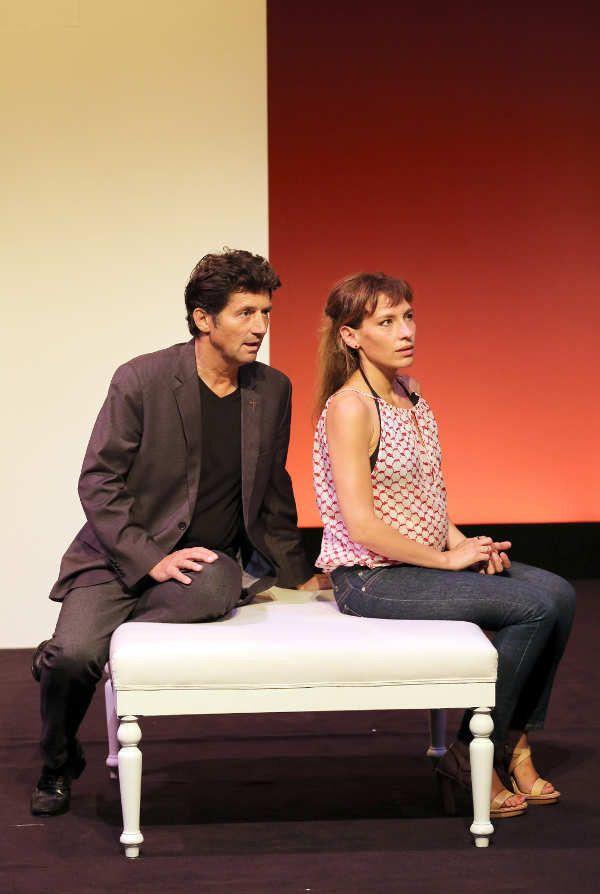 Bruno Madinier et Julie Debazac  (PhotoLot)