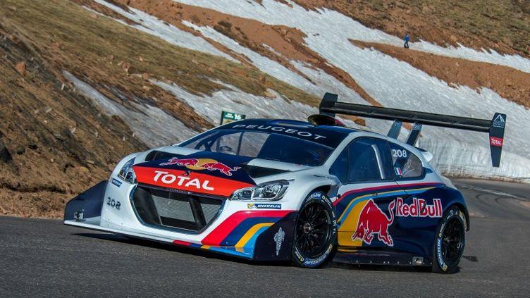 Sébastien Loeb à Colorado Springs (JOE KLAMAR / AFP)