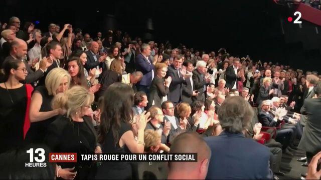 Festival de Cannes : des comédiens non professionnels applaudis avec Vincent Lindon
