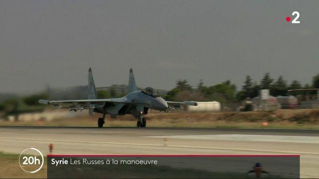Syrie : les Russes à la manœuvre