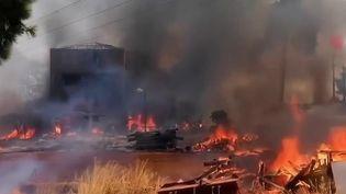 Turquie : de violents feux de forêt font trois morts (France 2)