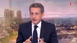 Nicolas Sarkozy sur France 2, le 7 octobre 2016 (FRANCE 2)